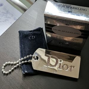 Dior Sparkling Gloss and Lipstick Keychain
